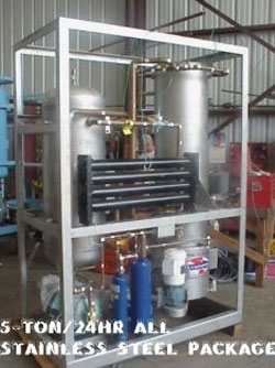 5 Ton / 24 Hour All Stainless Steel Package